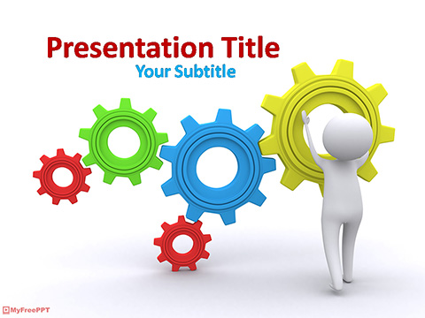 Free Maintenance Mode PowerPoint Template