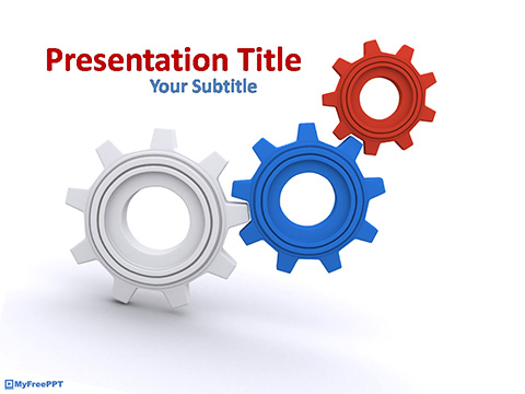 Free Mechanism PowerPoint Template