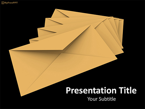 Free Newsletter PowerPoint Template