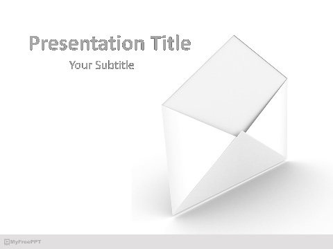 Open Mail PowerPoint Template