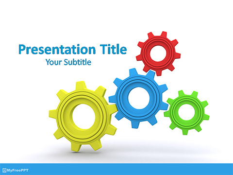 Free Organization Process PowerPoint Template