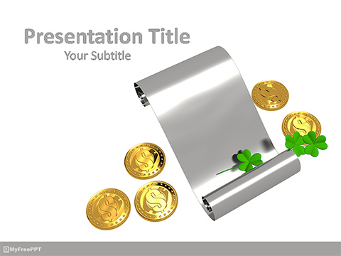 Patrick's Day Elements PowerPoint Template