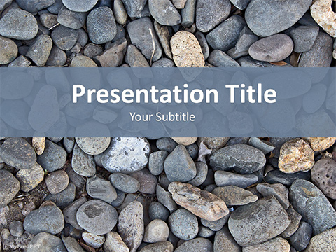 Pebbles PowerPoint Template
