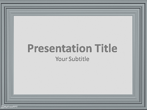 Free Photo Frame PowerPoint Template
