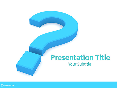Problem PowerPoint Template
