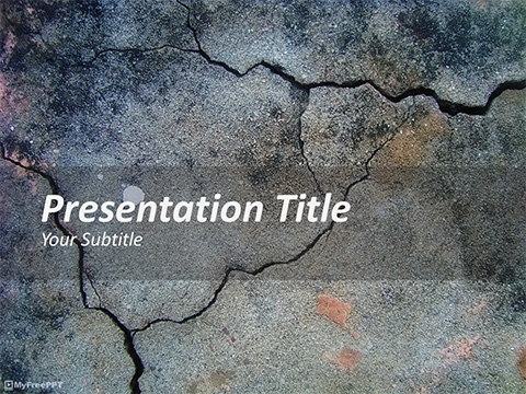 Free Quake PowerPoint Template