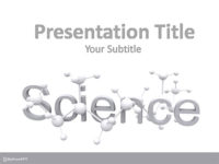 Free Reaserch on Molecules PowerPoint Template