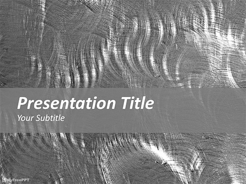 Rugged Metal PowerPoint Template