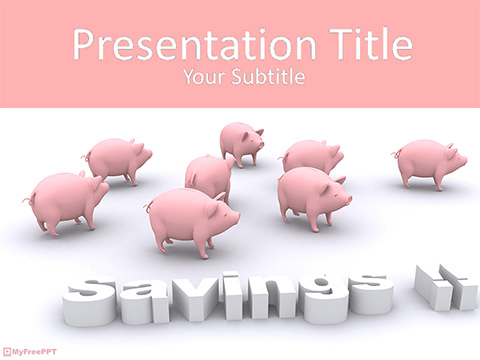 Savings Strategy PowerPoint Template