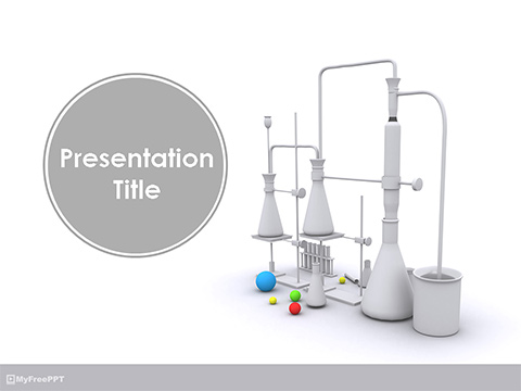 Science Lab PowerPoint Template
