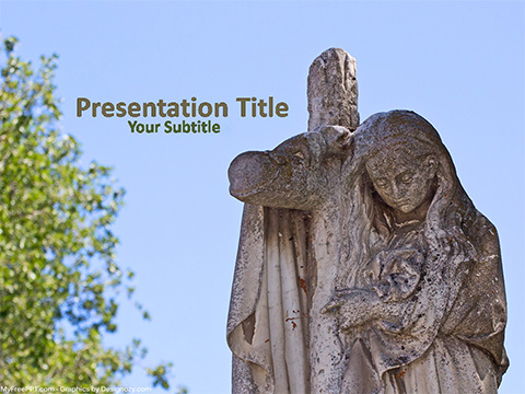 Free Sculpture PowerPoint Template