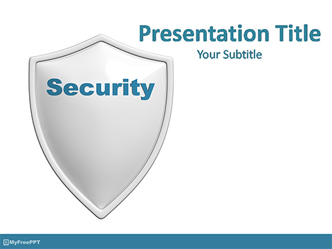 Secure PowerPoint Template
