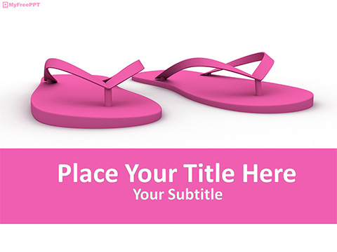 Slippers PowerPoint Template