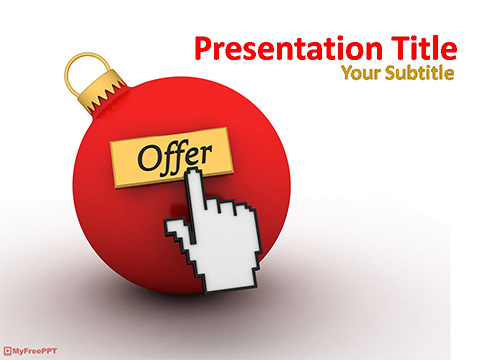 Solid Offer PowerPoint Template