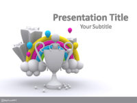 Free Success Celebration PowerPoint Template