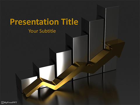 Free Success Graph PowerPoint Template