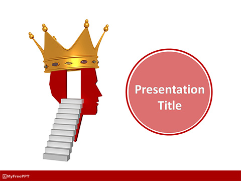 Free Success on Mind PowerPoint Template
