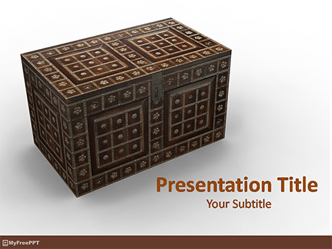 Treasure Box PowerPoint Template