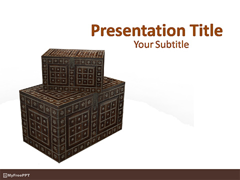 Treasure Boxes PowerPoint Template