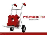 Free Trolley PowerPoint Template