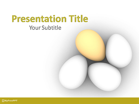 Unique Egg PowerPoint Template