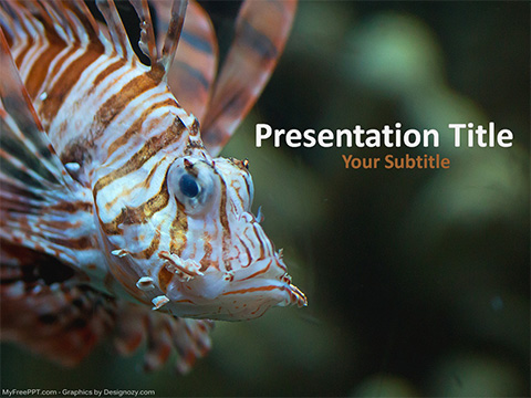 Wild Fish PowerPoint Template