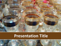 Free Wine Glasses PowerPoint Template