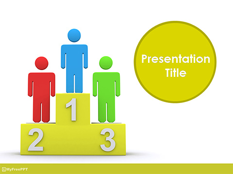 Free Winners PowerPoint Template