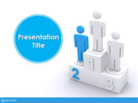 Free Winners Ranking PowerPoint Template