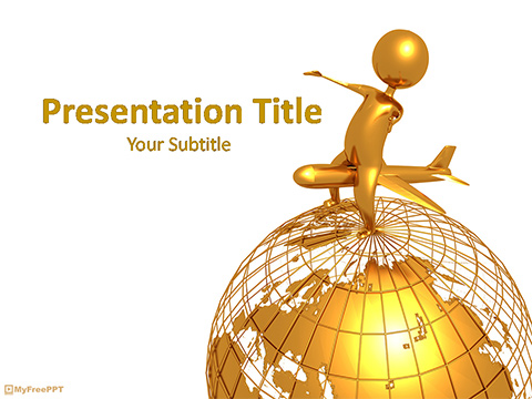 World Tour Concept PowerPoint Template
