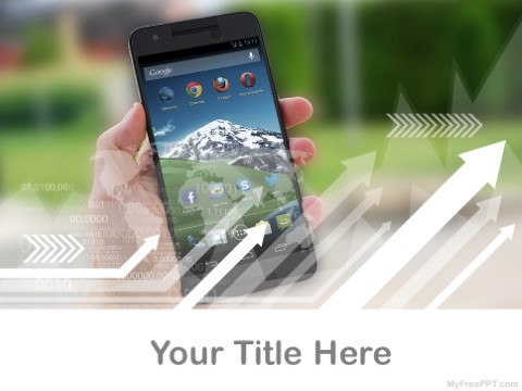 Free Android Phones PPT Template
