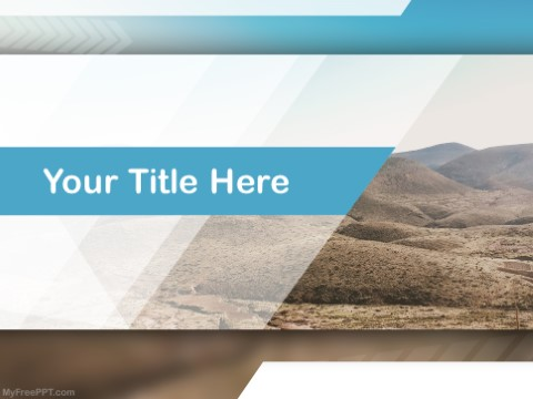 Free Arid PPT Template