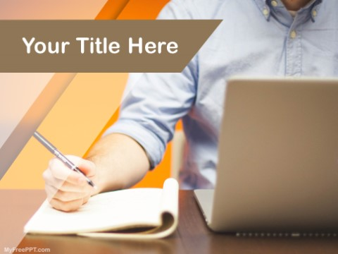 Free Article Writing PPT Template