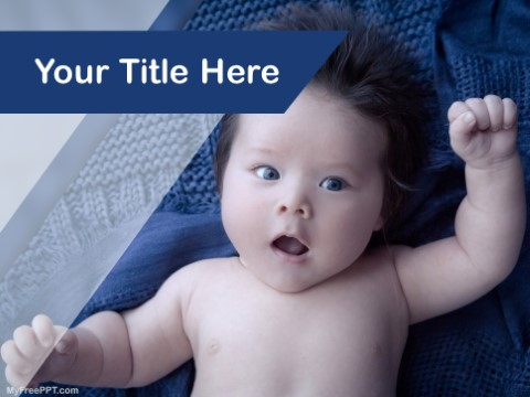 Free Baby Photography PPT Template