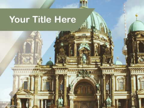 Free Berliner Dom PPT Template
