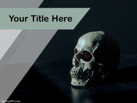 Free Black Magic PPT Template