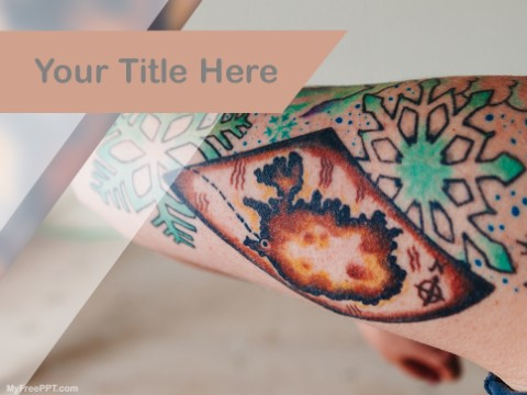 Free Body Art PPT Template