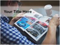 Free Car Magazine PPT Template