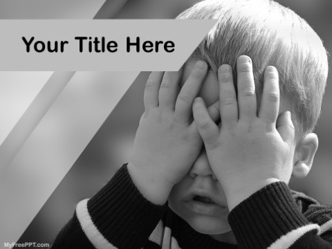 Free Child Blindness PPT Template