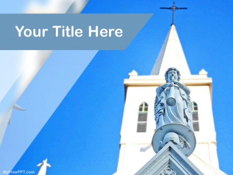 Free Church PPT Template