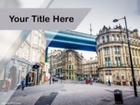 Free City Bridge PPT Template
