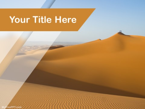 Free Dune PPT Template