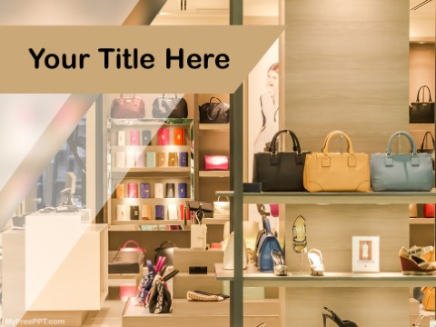 Free Fashion Accessories PPT Template - Download Free