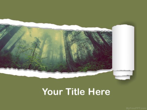 Free Forest PPT Template
