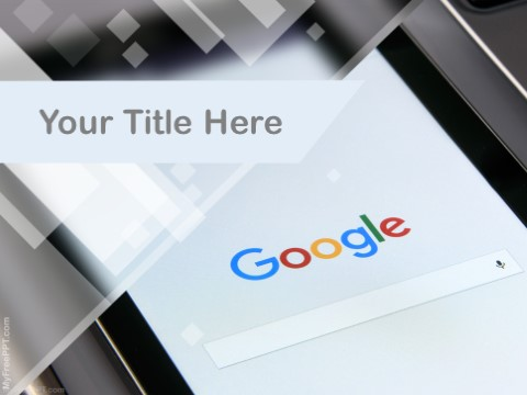 Free Google Search Engine PPT Template
