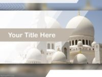 Free Grand Mosque PPT Template