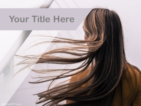 Free Hair Care PPT Template