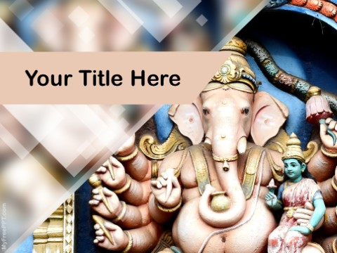 Free Hinduism PPT Template