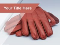 Free Leather Products  PPT Template