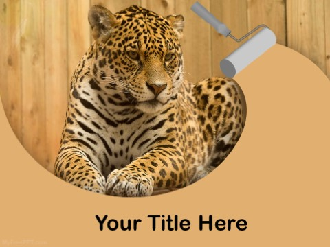 Free Leopard PPT Template